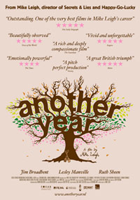 British comedy-drama film Another Year movie poster