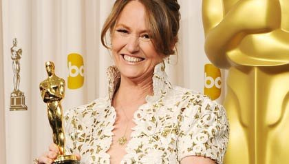 Actress Melissa Leo, winner of the award for Best Supporting Actress for 'The Fighter', poses in the press room during the 83rd Annual Academy Awards held at the Kodak Theatre on February 27, 2011 in Hollywood, California.