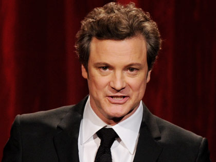 Actor Colin Firth en la gala de los premios: Movies for Grownups de AARP