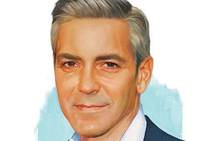 George Clooney turns 50 years