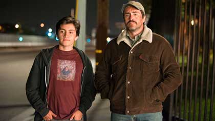 Jose Julian and Demian Bichir play father and son in A Better Life