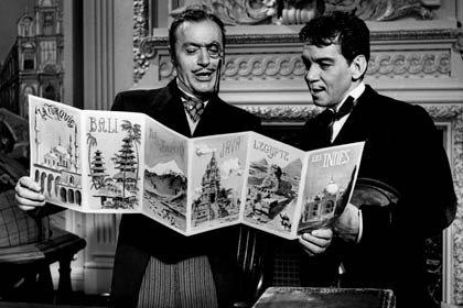 Centenario del natalicio del humorista mexicano Cantinflas - Película: Around the world