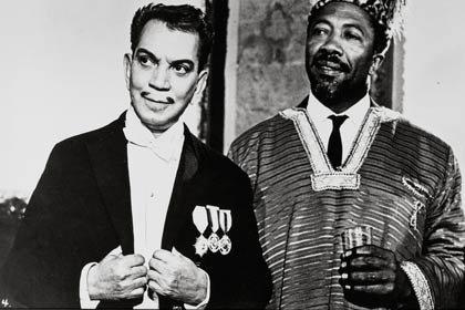 Centenario del natalicio del humorista mexicano Cantinflas - Película: Su excelencia