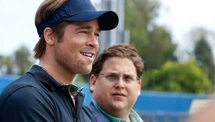 Moneyball Movie Review starring Brad Pitt and Jonah Hill