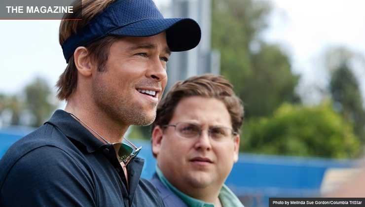 Moneyball Movie Review starring Brad Pitt and Jonah Hill