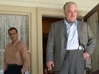 Joaquin Phoenix y Philip Seymour Hoffman protagonistas de la película - The Master