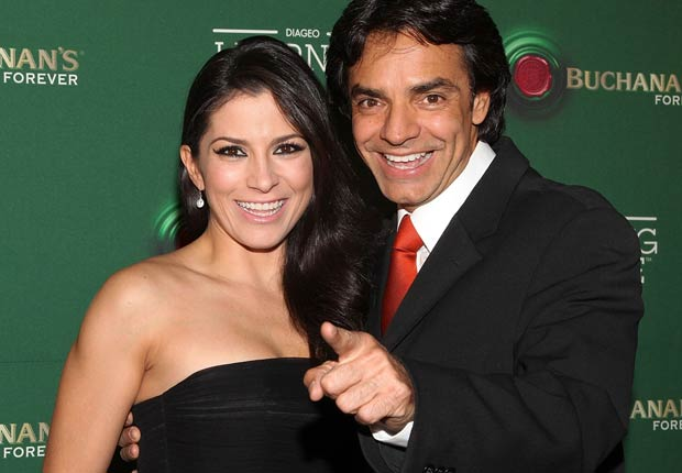 Alessandra Rosaldo and Eugenio Derbez - Parejas hispanas de celebridades