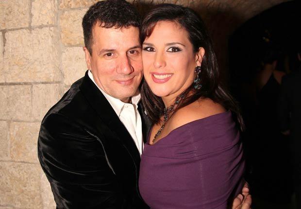 Angélica Vale and Otto Padrón - Parejas hispanas de celebridades