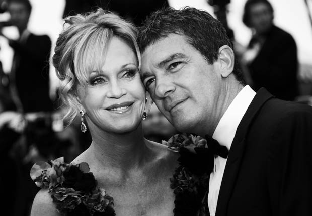 Antonio Banderas and Melanie Griffith - Parejas hispanas de celebridades