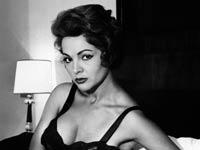 La actriz española Sarita Montiel en su apartamento en Madrid. La artista murió en su casa en Madrid el 08 de abril 2013 a los 85 años.
