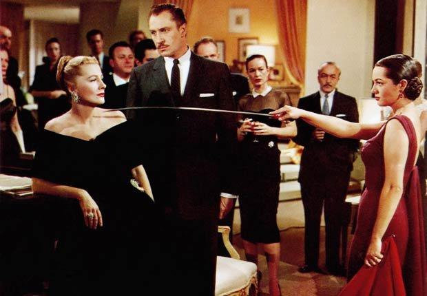 Película Serenata con Joan Fontaine, Vincent Price y Sara Montiel, 1956.