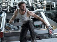 Actor Hugh Jackman en la película The Wolverine