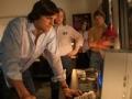 Ashton Kutcher como Steve Jobs en la película Jobs