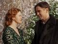 Colin Farrell y Jessica Brown Findlay en la pelicula Winter's Tale