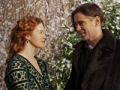 Colin Farrell y Jessica Brown Findlay en la pelicula Winter's Tale