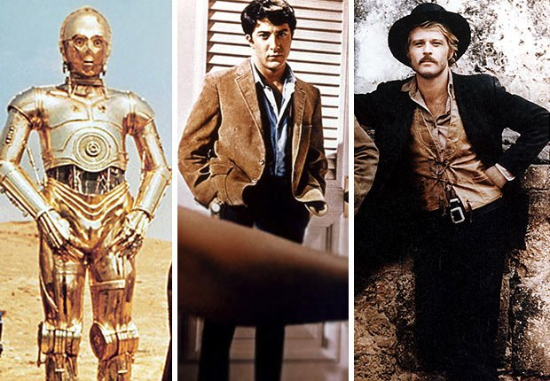 Reader poll Boomer movies, star wars, the Graduate and Butch Cassidy and the Sundance Kid