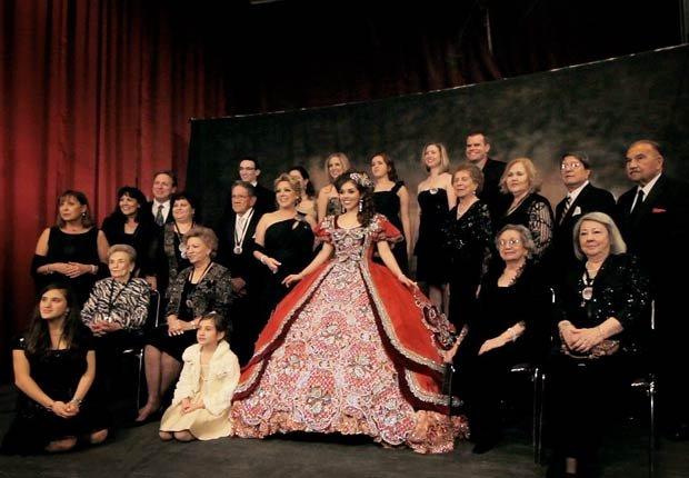 La familia de Laura Garza Hovel - Película Las Marthas