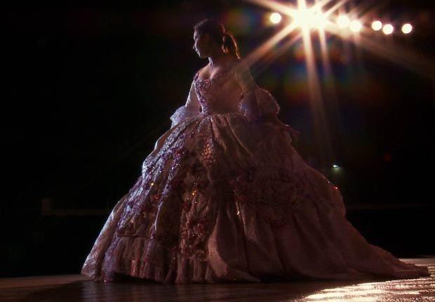 Rosario Reyes debutante de la película Las Marthas