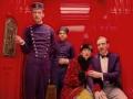 Tilda Swinton y Ralph Fiennes en la película The Grand Budapest Hotel