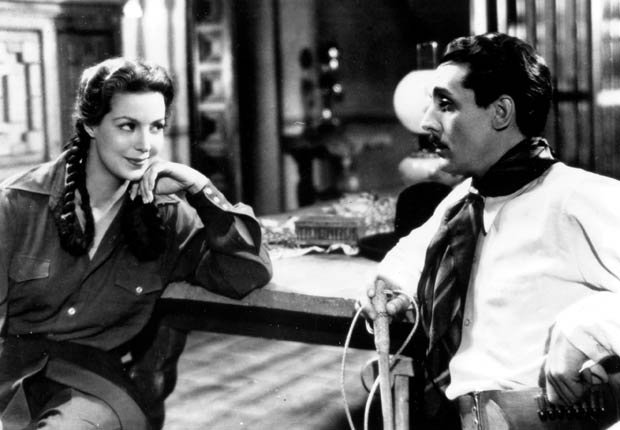 Maria Felix en Doña Barbara, 1943.