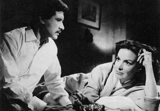 María Félix en La Estrella Vacia, 1958 - 10 películas clásicas mexicanas con María Félix.