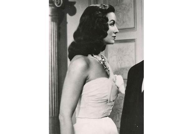 María Félix en La Pasión Desnuda, 1953 - 10 películas clásicas mexicanas con María Félix.