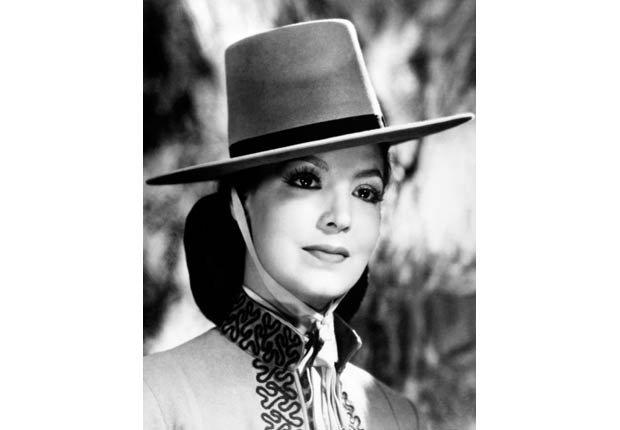 María Félix en El Peñon de las ánimas, 1942.