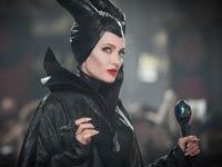 Angelina Jolie en la película Maleficent