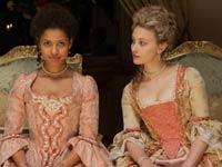 Gugu Mbatha-Raw y Sarah Gadon protagonizanla película de Amma Asante: Belle.