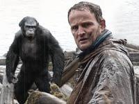 Jason Clarke, Andy Serkis, Toby Kebbell, y Karin Konoval protagonizan la película Dawn of the Planet of the Apes.