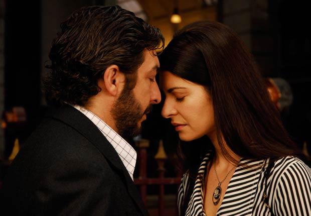 Ricardo Darin y Soledad Villamil en la película El secreto de tus ojos, 2009.