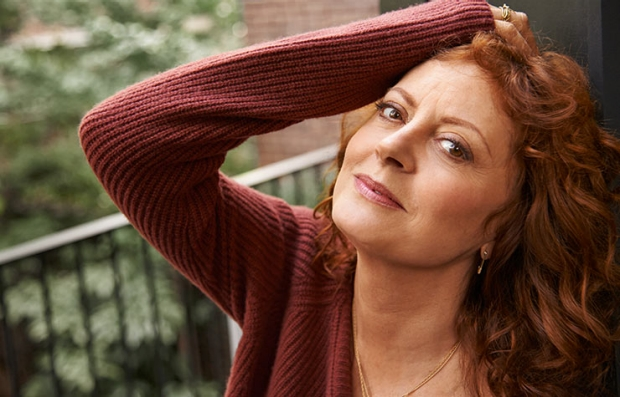 Susan Sarandon fotografiada en la ciudad de Nueva York