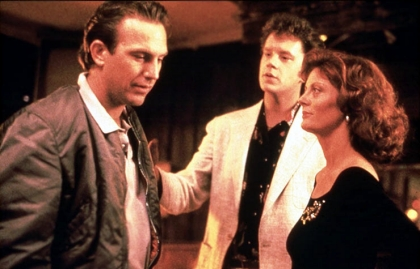 Susan Sarandon, Tim Robbins and Kevin Costner in BULL DURHAM, MFG Lifetime Achievement Award