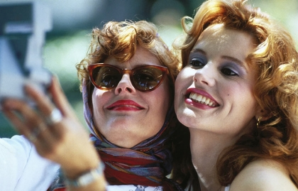 Susan Sarandon and Geena Davis THELMA & LOUISE, MFG Lifetime Achievement Award
