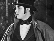 Actor Rodolfo Valentino, considerado un Latin lover del cine