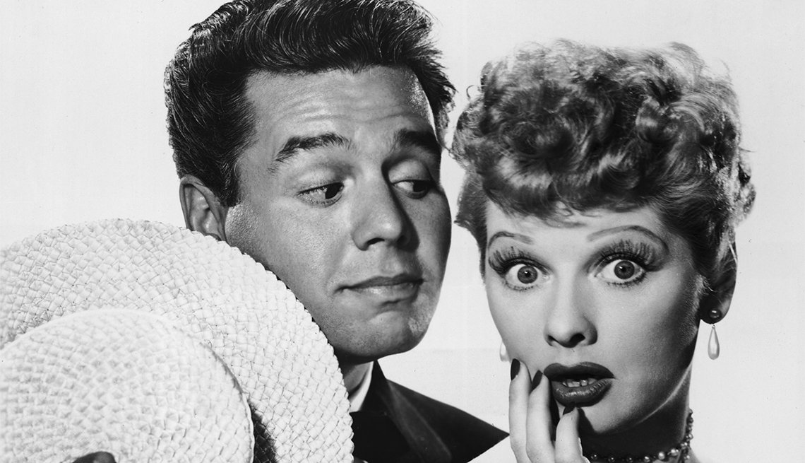 Lucille Ball, Desi Arnaz, latin lovers del cine