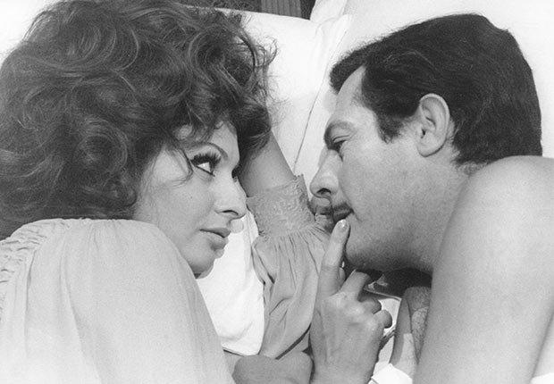 Marcello Mastroianni, latin lovers del cine
