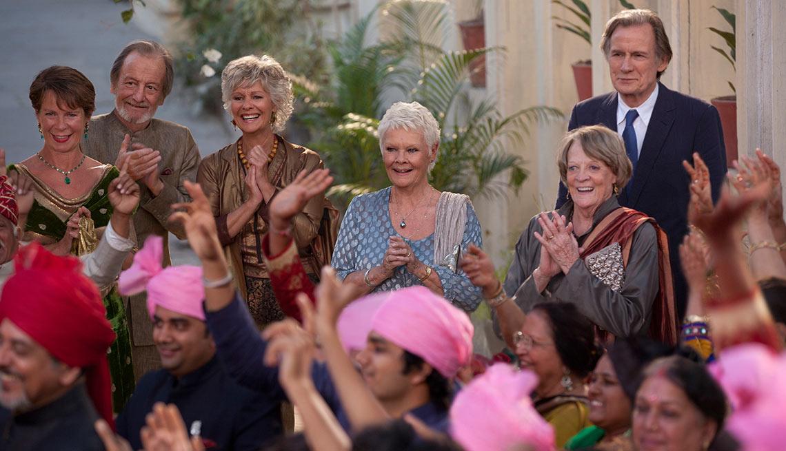 Escena de la película Second Best Exotic Marigold Hotel