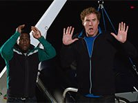 Kevin Hart y Will Farrell en una escena de la película Get Hard