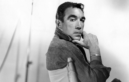 Anthony Quinn, 100 años del natalicio del actor de Holllywood.