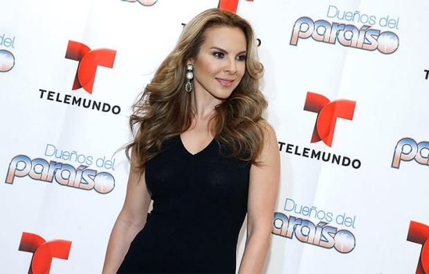 Kate del Castillo, protagonista de la telenovela Dueños del Paraíso