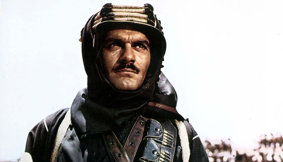 Omar Sharif en Lawrence of Arabia