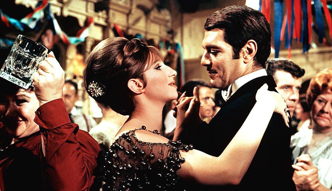 Omar Sharif junto a Barbra Streisand en Funny Girl