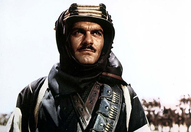 Omar Sharif en Lawrence of Arabia