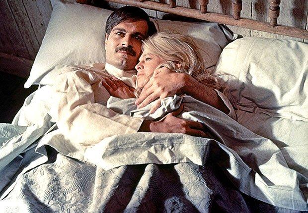 Omar Sharif en Doctor Zhivago