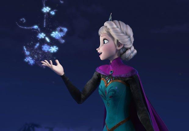 Escena de Frozen - La carrera de Walt Disney