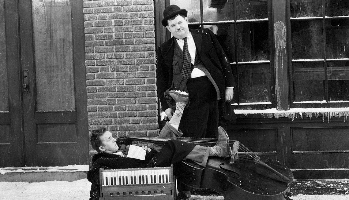 Versión en español de Laurel y Hardy en Below Zero - Actores hispanos en películas de Hollywood