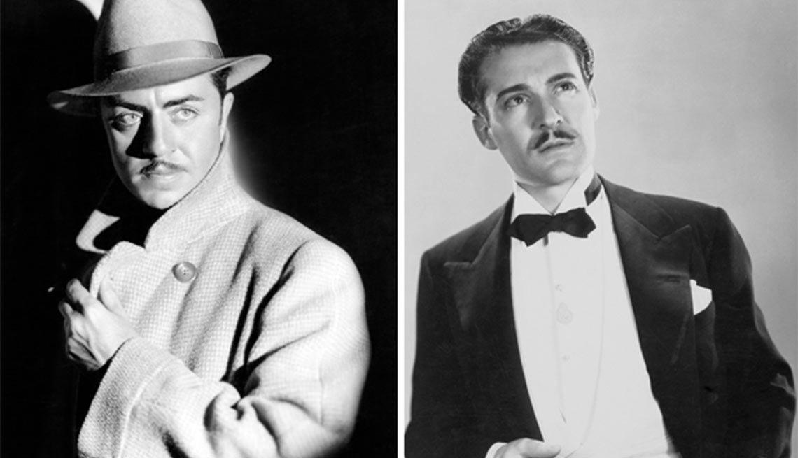 Versión en español de The Benson Murder Case, William Powlell, izquierda, Ramón Pereda, derecha - Actores hispanos en Hollywood