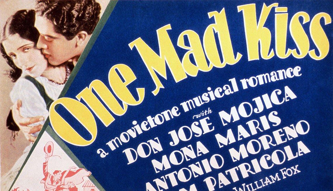 Versión en español de One Mad Kiss - Actores hispanos en películas de Hollywood