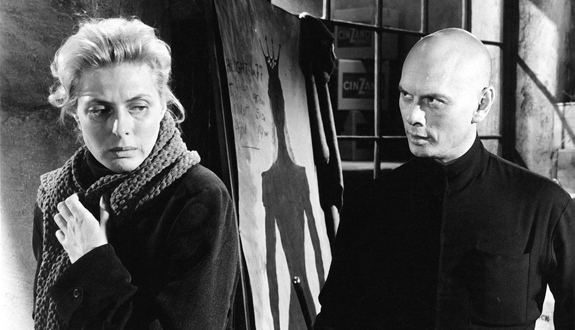 Una escena de Anastasia, película con Ingrid Bergman, una actriz de la era dorada de Hollywood a 100 años de su natalicio.